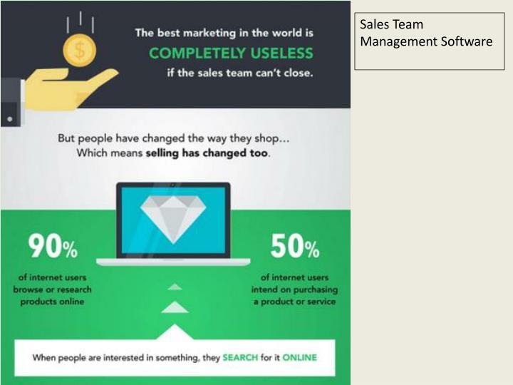 Sales Team Management Software