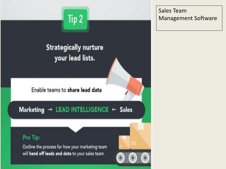 Sales Team Management Software