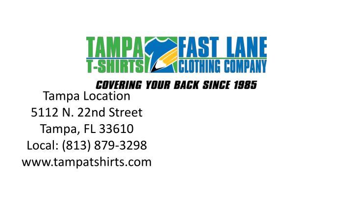 Tampa Location