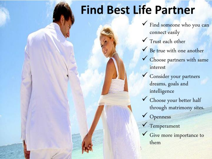 Find Best Life Partner