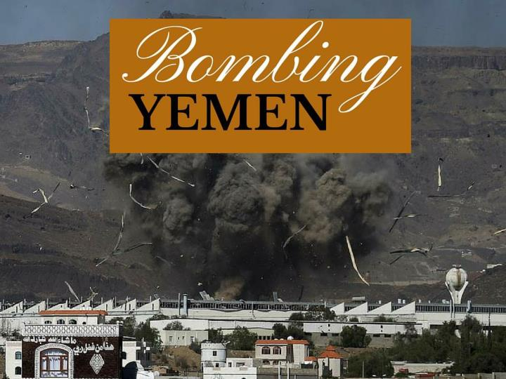 besieging yemen