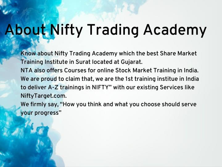 About Nifty Trading Academy