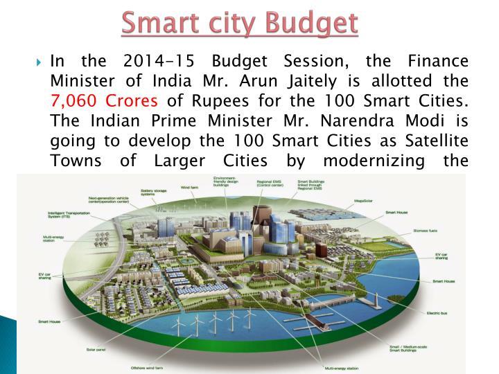 Smart city Budget