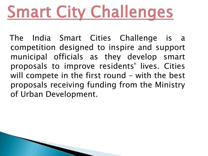 Smart City Challenges