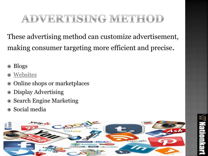 Advertising method