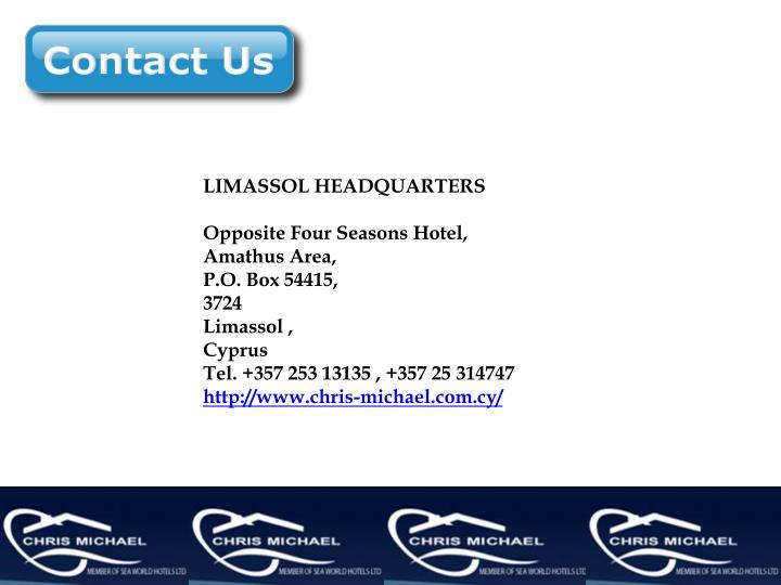 LIMASSOL HEADQUARTERS