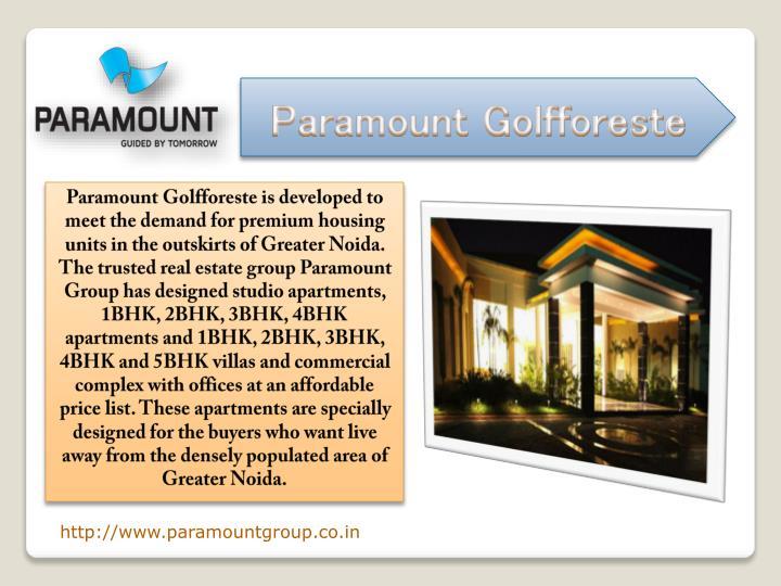 Paramount Golfforeste