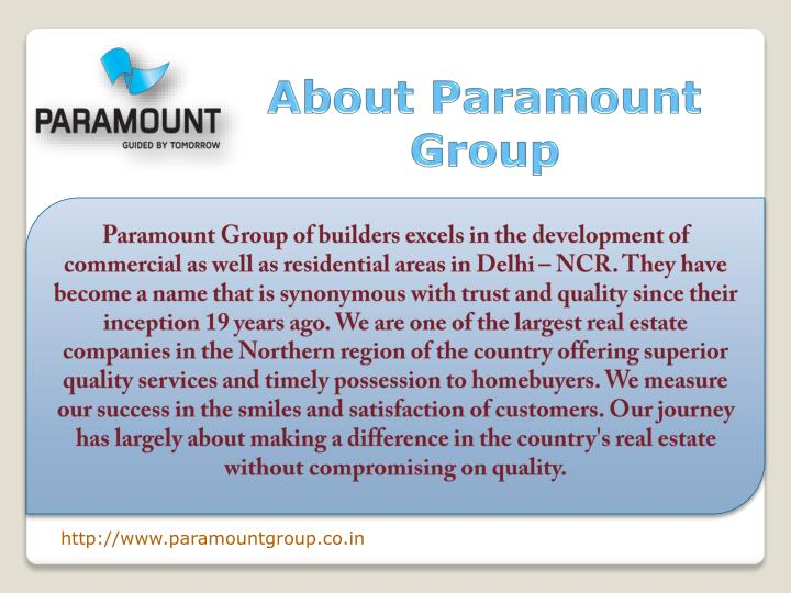 About Paramount Group