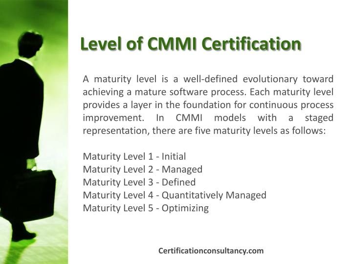 Level of CMMI Certification
