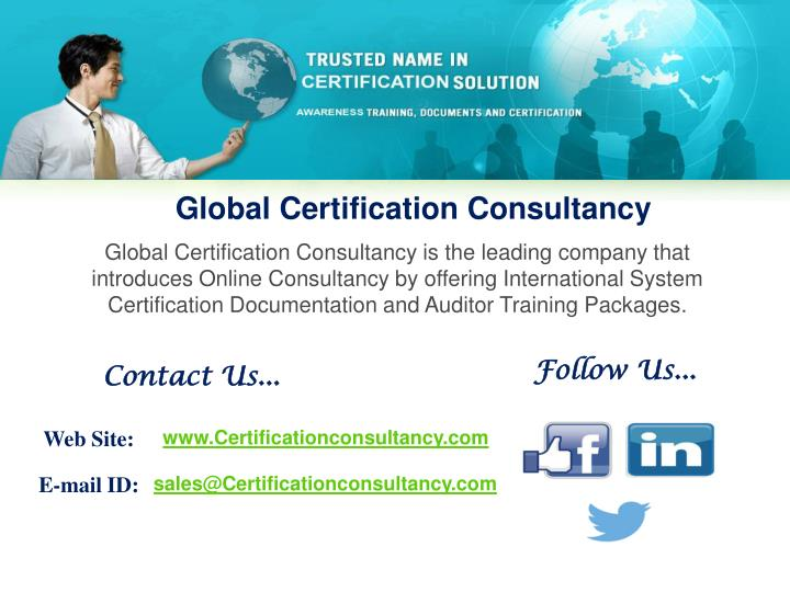 Global Certification Consultancy