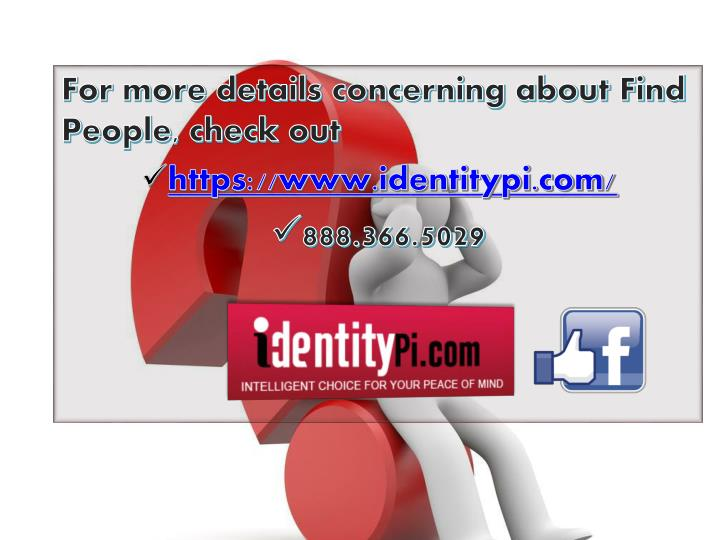 For more details concerning about Find People, check out