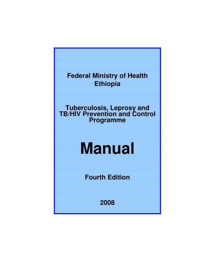Federal Ministry of Health