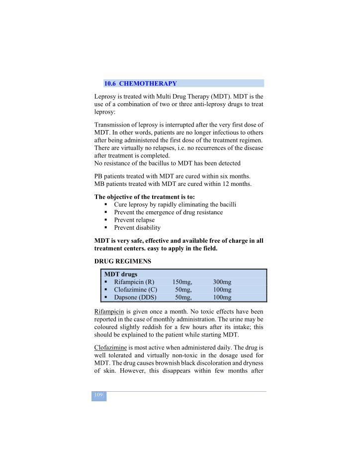10.6  CHEMOTHERAPY