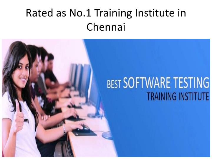 Rated as No.1 Training Institute in Chennai