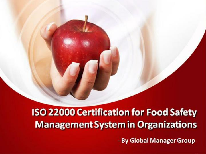 ISO 22000 Certification for Food Safety