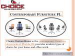 contemporary furniture fl