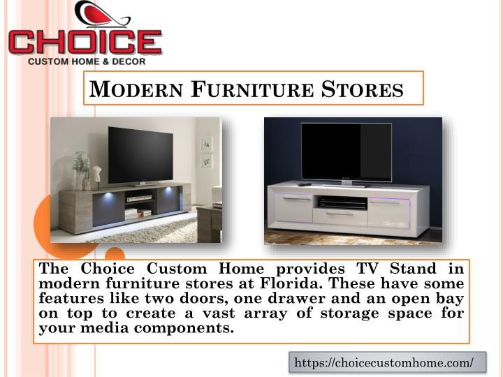 Modern Furniture Stores