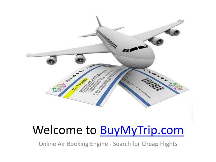 Welcome to buymytrip com