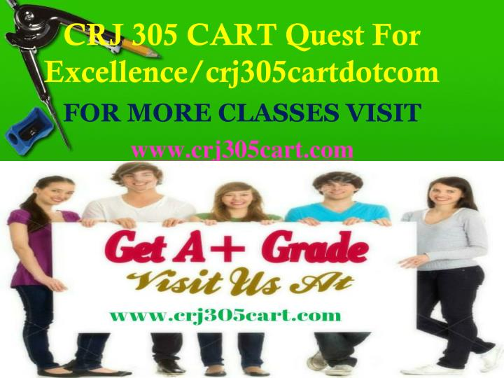 Crj 305 cart quest for excellence crj305cartdotcom