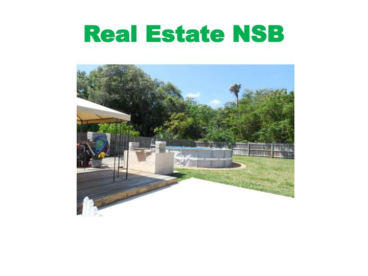 Real Estate NSB