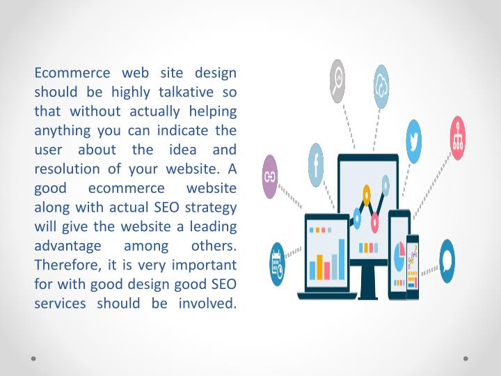 Ecommerce web site design