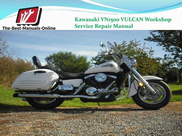 Kawasaki VN1500 VULCAN Workshop                                                  Service Repair Manual