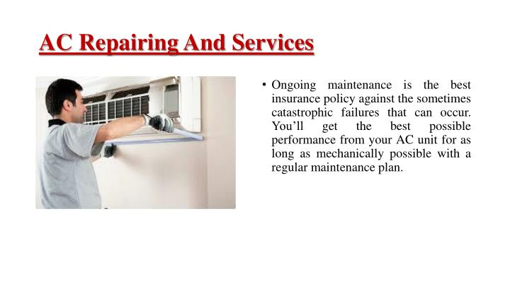 AC Repairing And Services
