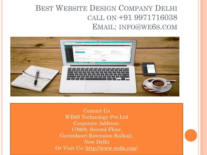 Best Website Design Company Delhi