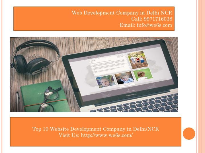 Web Development Company in Delhi NCR