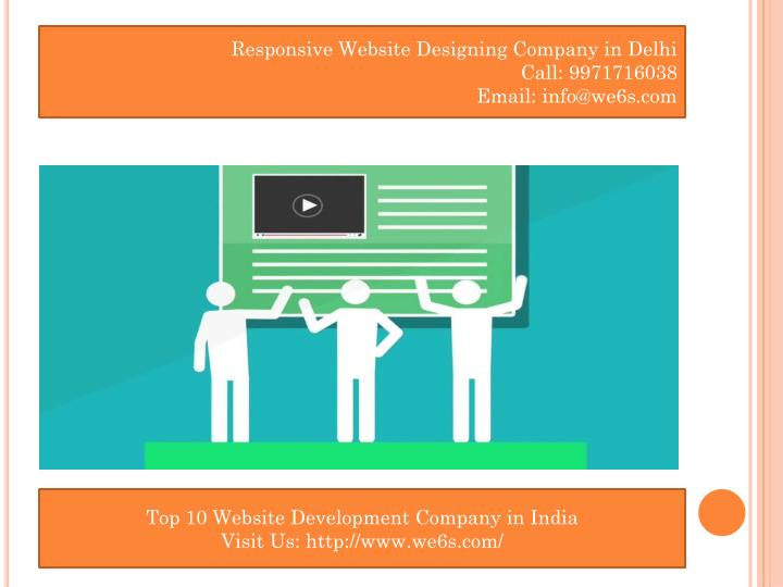 Responsive Website Designing Company in Delhi