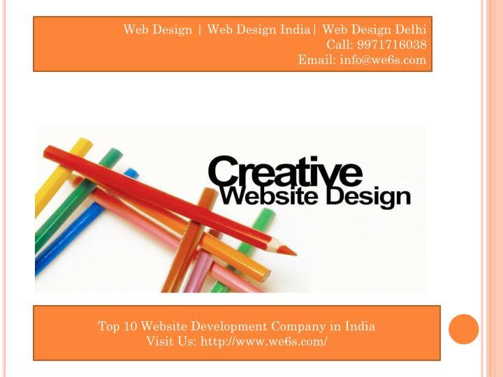 Web Design | Web Design India| Web Design Delhi