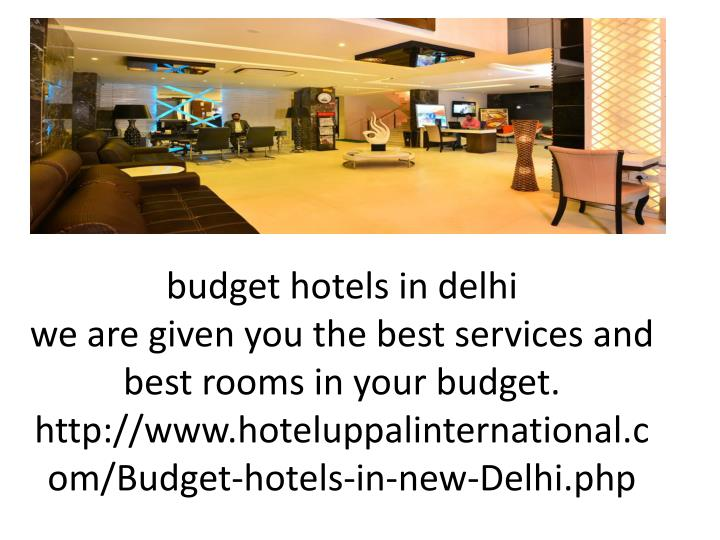 budget hotels in