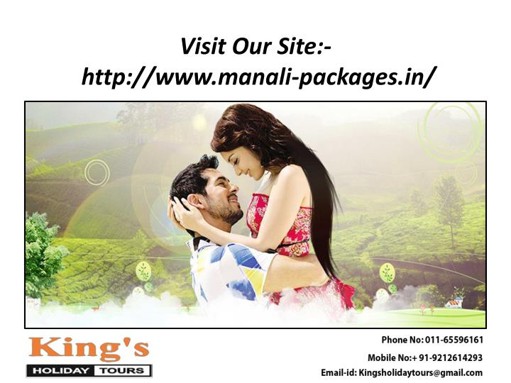 Visit our site http www manali packages in