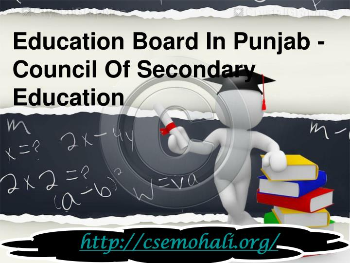 Education Board In Punjab -