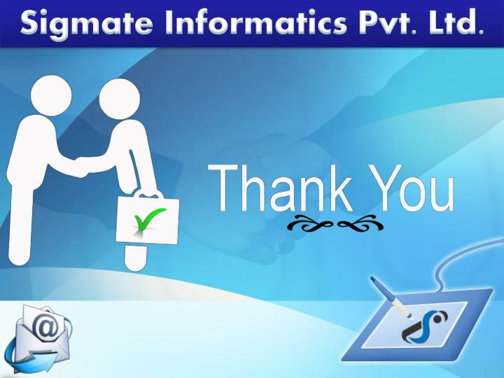 Sigmate Informatics Pvt. Ltd.