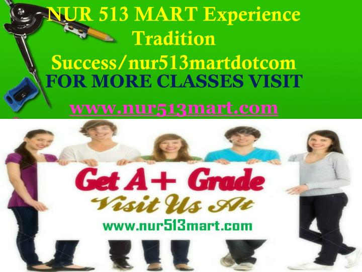 Nur 513 mart experience tradition success nur513martdotcom