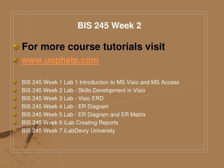 BIS 245 Week 2