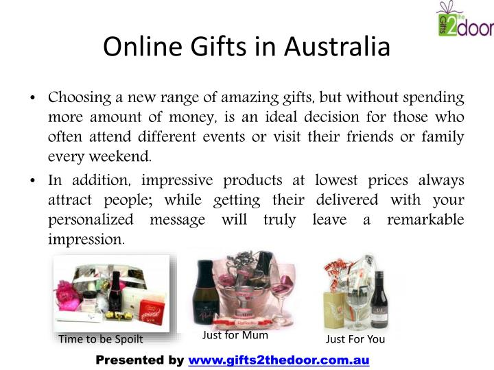 Online gifts in australia
