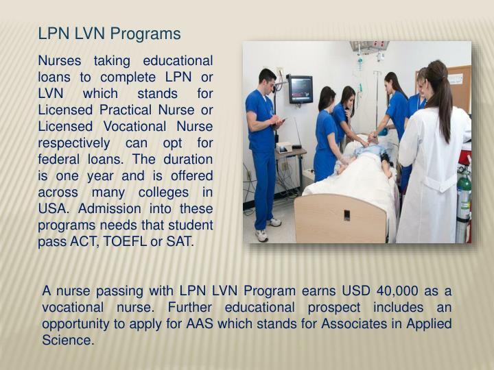 LPN LVN Programs