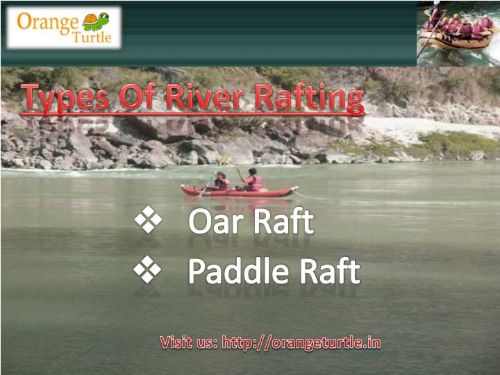 Types Of River Rafting