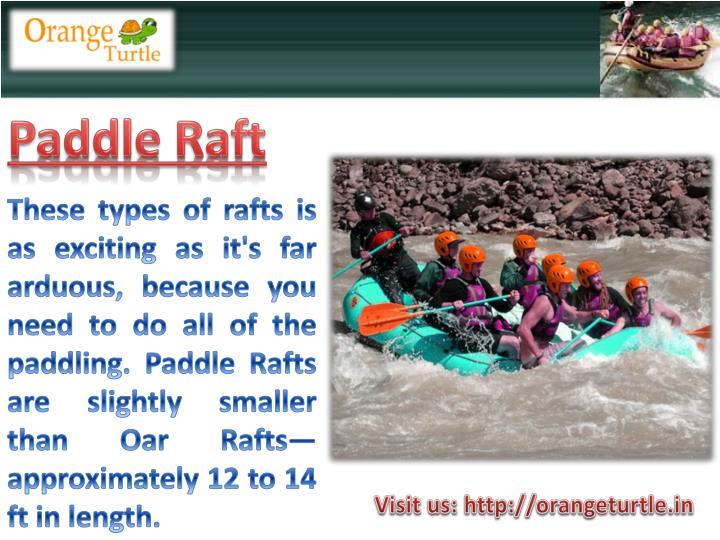 Paddle Raft