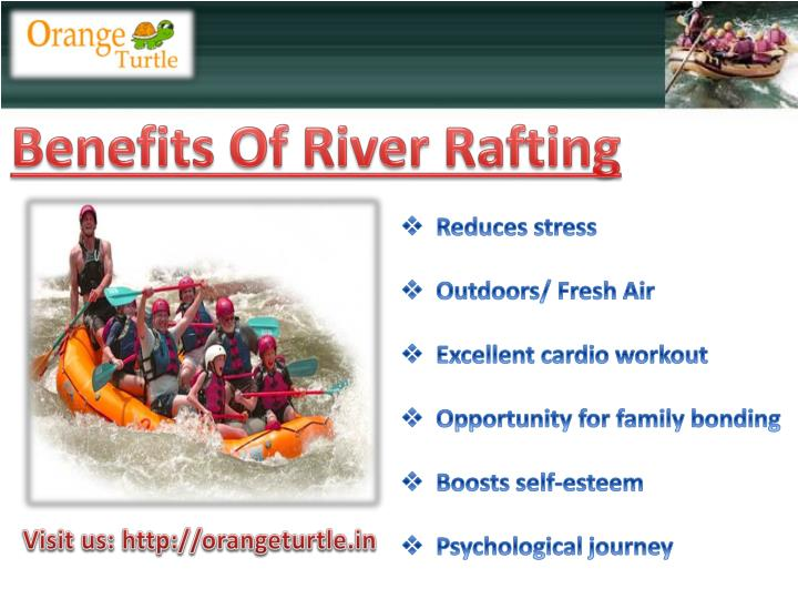 Benefits Of River Rafting