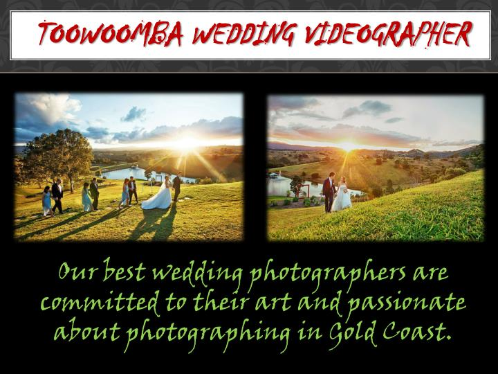 Toowoomba wedding videographer