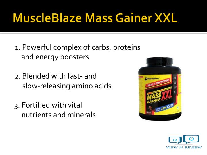 1. Powerful complex of carbs, proteins