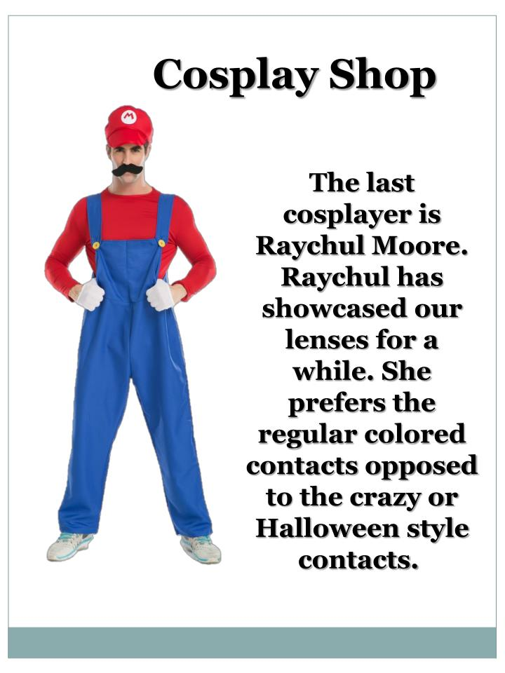 Cosplay Shop