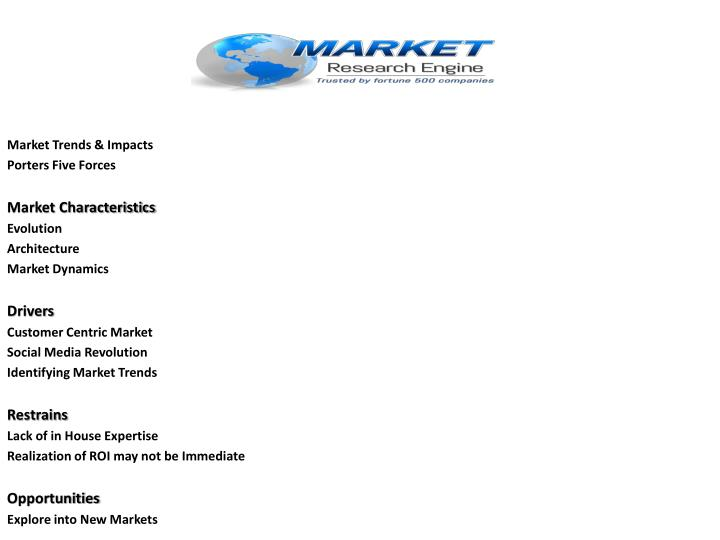 Market Trends & Impacts