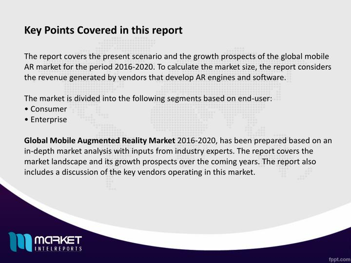 Key Points Covered in this report