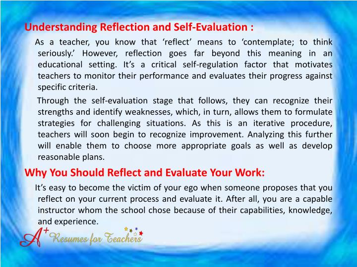 Understanding Reflection and