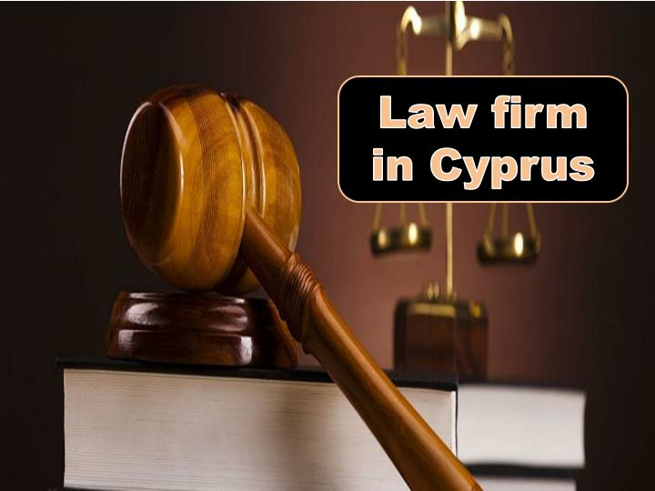 Law firm in Cyprus