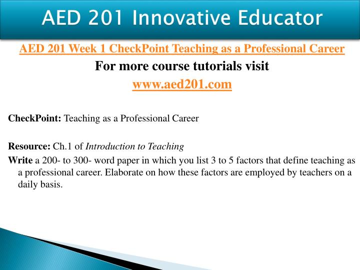 Aed 201 innovative educator1